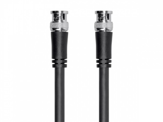 Monoprice Cable Coaxial BNC Macho - BNC Macho, 15.2 Metros, Negro
