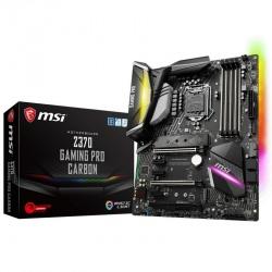 Tarjeta Madre MSI ATX Z370 GAMING PRO CARBON, S-1151, Intel Z370, HDMI, 64GB DDR4 para Intel ― Compatibles solo para 8va Generación