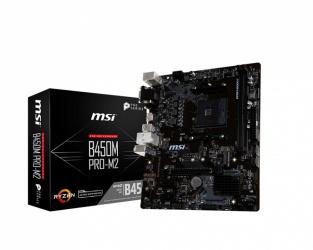 Tarjeta Madre MSI Micro ATX B450M PRO-M2, S-AM4, AMD B450, HDMI, 32GB DDR4 para AMD