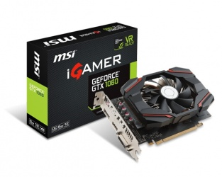 Tarjeta de Video MSI NVIDIA GeForce GTX 1060 iGAMER OC, 6GB 192-bit GDDR5, PCI Express x16 3.0 ― ¡Recibe Fortnite Counterattack Set!