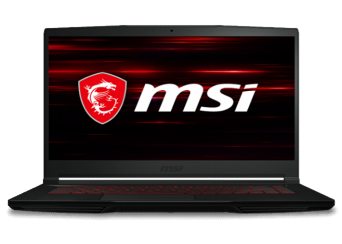 Laptop Gamer MSI GF63 Thin 10SCSR-1435MX 15.6