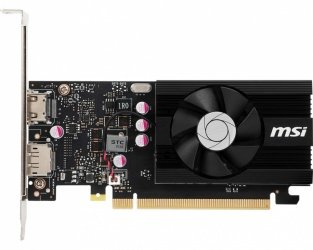 Tarjeta de Video MSI NVIDIA 	GeForce GT 1030 LP OC, 2GB 64-bit DDR4, PCI Express x16 3.0