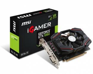 Tarjeta de Video MSI NVIDIA GeForce GTX 1060 iGAMER OC, 6GB 192-bit GDDR5, PCI Express x16 3.0