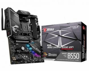 Tarjeta Madre MSI ATX MPG B550 GAMING EDGE WIFI, S-AM4, AMD B550, 128GB DDR4 para AMD — Requiere Actualización de BIOS para la Serie Ryzen 5000
