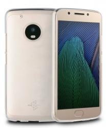 Muvit Funda Crystal Soft para Motorola Moto G5 Plus, Transparente