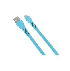 Naceb Cable Ligthning Macho - USB A Macho, 1 Metro, Azul