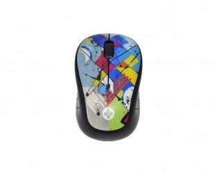 Mouse Naceb Óptico Arty, Inalámbrico, USB, 1000DPI, Multicolor
