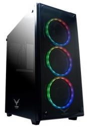 Gabinete Naceb Player con Ventana RGB, Full ATX, USB 2.0/3.0, sin Fuente, Negro