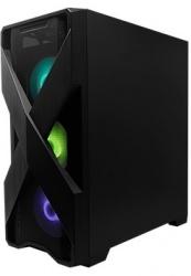 Gabinete Naceb X Case con Ventana RGB, ATX, USB 2.0/3.0, sin Fuente, Negro