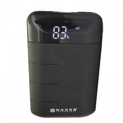 Cargador Portátil Naceb Power Bank NA-0702, 6000mAh, Negro
