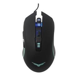 Mouse Gamer Naceb Óptico Horus, Alámbrico, USB, 3200DPI, Negro