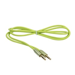 Naceb Cable 3.5mm Macho - 3.5mm Macho, 1 Metro, Verde