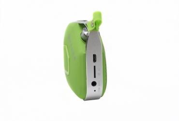 Naceb Technology Bocina Portátil NA-598V, Bluetooth, Inalámbrico, Verde