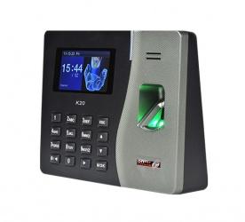National Soft Control de Acceso y Asistencia Biométrico K20, 100 Usuarios