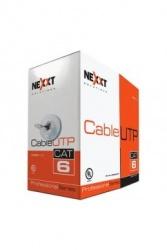 Nexxt Solutions Bobina de Cable Cat6 UTP Macho, 305 Metros, Gris