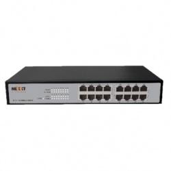 Switch Nexxt Solutions Ethernet ASFRM164U1, 10/100Mbps, 3.2 Gbit/s, 16 Puertos, 4000 Entradas