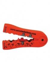 Nexxt Solutions Peladora y Cortadora de Cables, Rojo