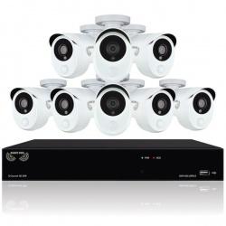 Night Owl Kit de Vigilancia C-881-PIR1080 de 8 Cámaras y 8 Canales, con Grabadora