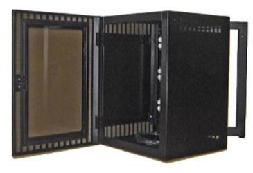 North System Gabinete para Montaje en Pared, 20U, Negro Texturizado