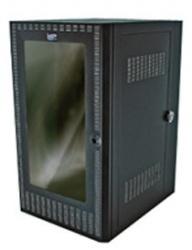 North System Gabinete para Montaje en Pared, 20UR, hasta 80kg, Negro