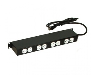 North System PDU para Rack 1U NORTH609-BKT, 15 A, 127V, 6 Contactos
