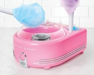 Nostalgia Maquina de Algodones de Azúcar COT5PK, 450W, Rosa
