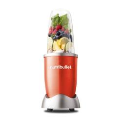 NutriBullet Pulverizador de Alimentos 101126, 600W, Rojo