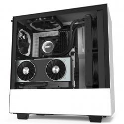 Gabinete NZXT H510i con Ventana, Midi-Tower, ATX/Micro-ATX/Mini-ATX, sin Fuente, Blanco