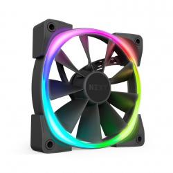 Ventilador NZXT Aer RGB 2, 120mm, 500 - 1500RPM, Negro