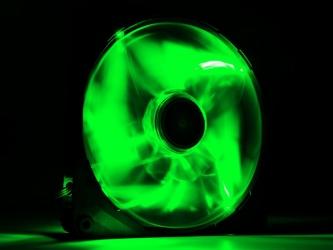 Ventilador NZXT FZ140 LED Verde, 140mm, 1000RPM, Negro