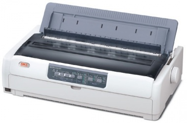OKI MICROLINE 621, Blanco y Negro, Matriz de Puntos, 9 Pines, Paralelo/USB 2.0, Print