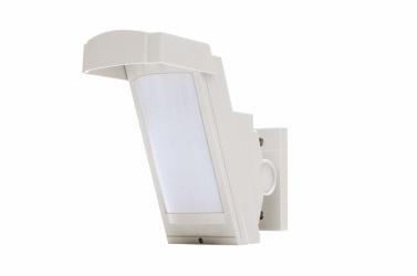 Optex Sensor de Movimiento PIR de Montaje en Pared HX-40RAM, Alámbrico, 12 Metros, Blanco