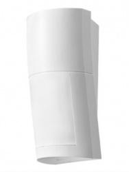 Optex Sensor de Movimiento PIR QXI-R, Inalámbrico, hasta 12 Metros, Blanco