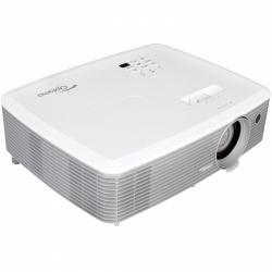 Proyector Optoma W400+ DLP, WXGA 1280 x 800, 4000 Lúmenes, con Bocinas, Gris/Blanco