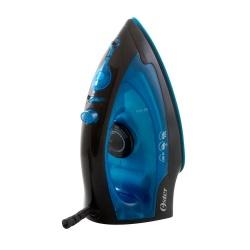 Oster Plancha Vapor-Seco, Suela Antiadherente, 1200W, 180ml, Negro/Azul