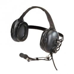 Otto Audífonos con Micrófono para Radio Heavy Duty, Negro, para Motorola