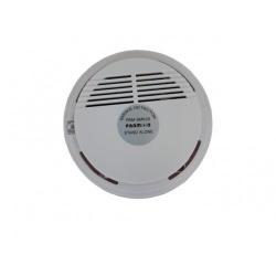 Paamon Detector de Humo PAM-SMK20, Alámbrico, Blanco