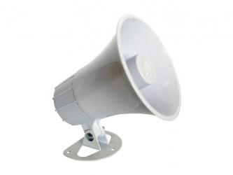 Paamon Sirena para Exterior PAM-SRE15W, Alámbrico, 2 Tonos, 102dB, Blanco