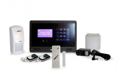 Paamon Kit Sistema de Alarma PAM544TCID, Inalámbrico, Incluye Panel/ Contacto Magnetico/ 2x Controles Remotos/Sirena