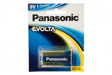 Panasonic Bateria Alcalina 9 V, 1 Pieza