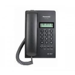 Panasonic Teléfono KX-T7703X-B, Alámbrico, 16 Teclas, Negro