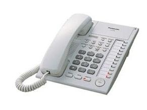 Panasonic Teléfono Multilínea Análogico KX-T7750X, Blanco