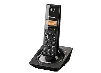Panasonic KX-TG1711MEB Teléfono DECT 6.0, Inalámbrico, Negro