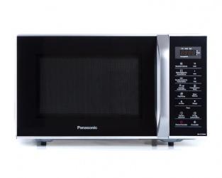 Panasonic Horno de Microondas NN-ST34HMRPH, 0.9 Pies Cúbicos, 800W, 25.5 Litros, Negro/Platino