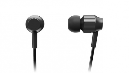 Panasonic Audífonos Intrauriculares con Micrófono RP-HDE3M, Alámbrico, 1.2 Metros, 3.5mm, Negro