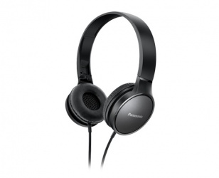 Panasonic Audífonos RP-HF300E-Z, Alámbrico, 1.2 Metros, 3.5mm, Negro
