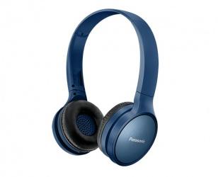 Panasonic Audífonos con Micrófono RP-HF410K, Bluetooth, Inalámbrico, Azul