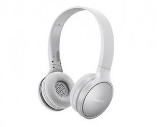 Panasonic Audífonos con Micrófono RP-HF410B, Bluetooth, Inalámbrico, Blanco