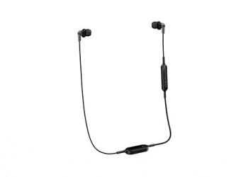 Panasonic Audífonos Intrauriculares con Micrófono RP-HJE120BPK, Inalámbrico, Bluetooth, Negro