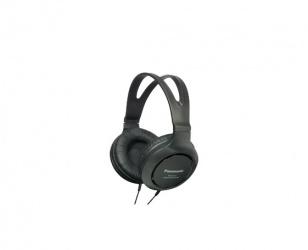 Panasonic Audífonos RP-HT161, Alámbrico, 2 Metros, 3.5mm, Negro